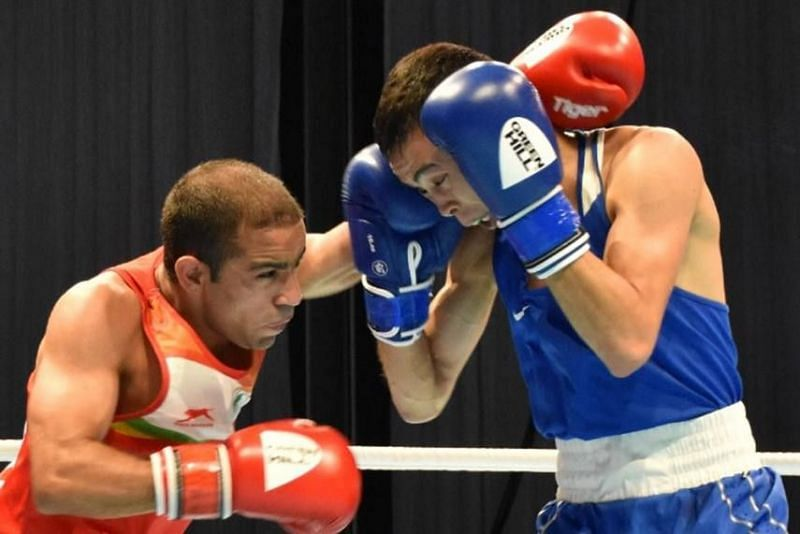 Amit Panghal is one of India's top boxers