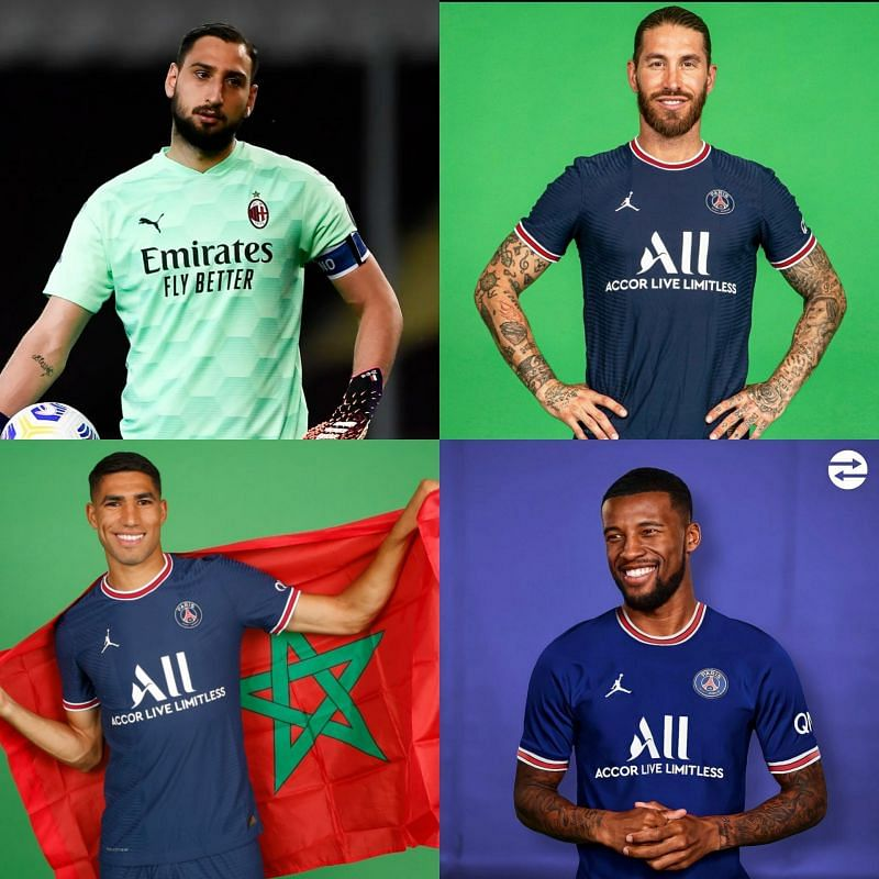 The four potential PSG signings, for a combined fee of €60m