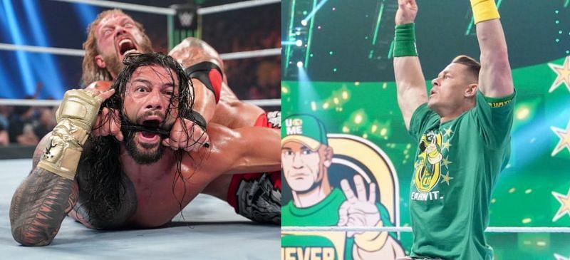 WWE दिग्गज जॉन सीना और रोमन रेंस