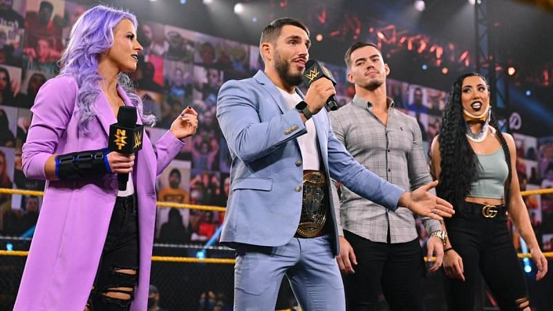 The Way is one of the premier factions on NXT