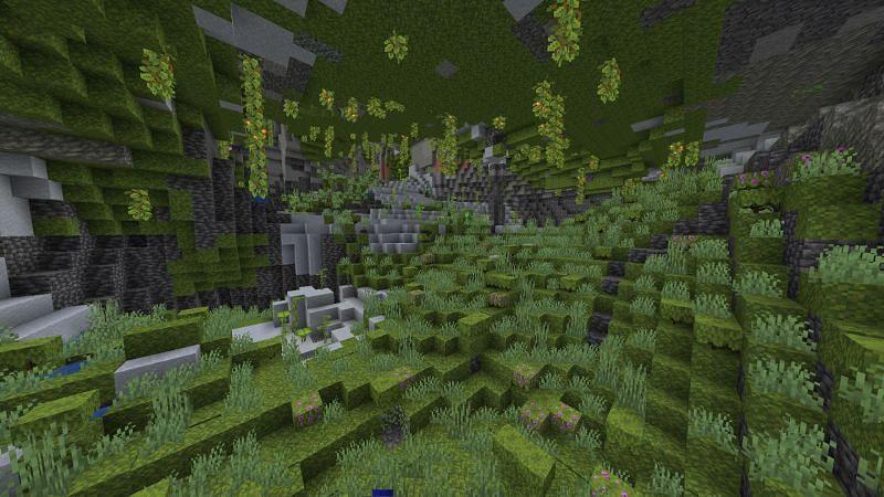 Lush caves (Image via u/Realcoolpal on Reddit)
