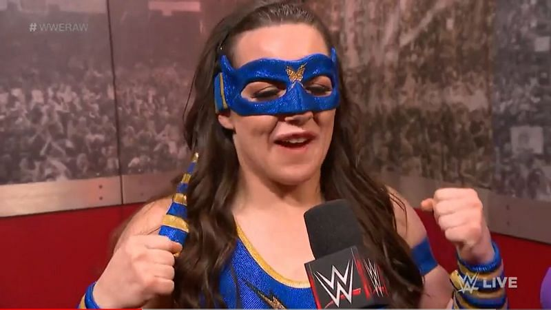Nikki Cross brand new RAW character is almost a superhero