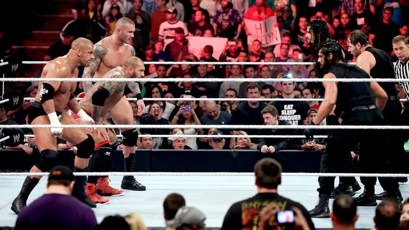 Two of WWE's greatest factions collided at Extreme Rules 2014