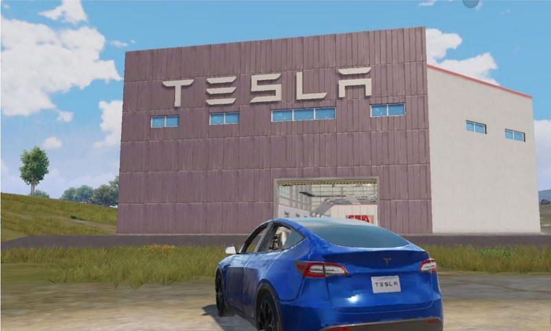 How to get Tesla Cybertruck and Roadster in BGMI (Image via Krafton)