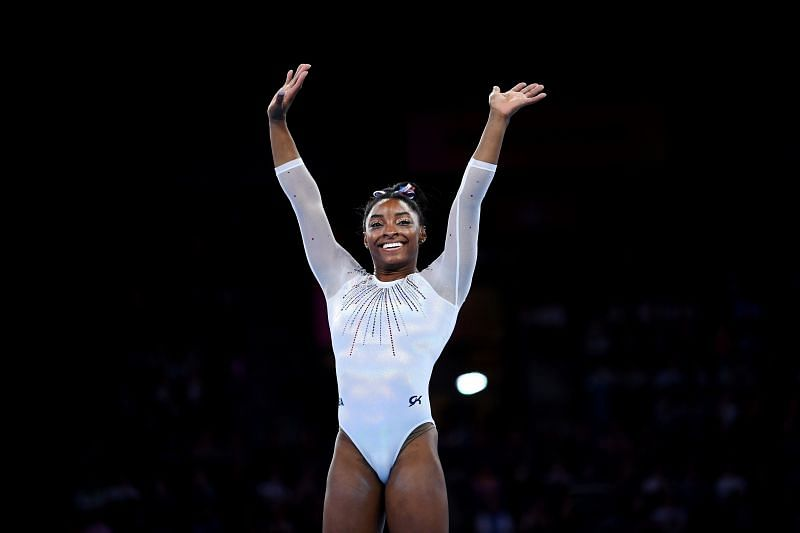 49th FIG Artistic Gymnastics World Championships - Day Seven Simone Biles (Photo by Laurence Griffiths/Getty Images)