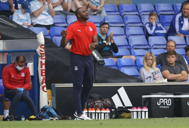 Patrick Vieira is now Crystal Palace's manager.