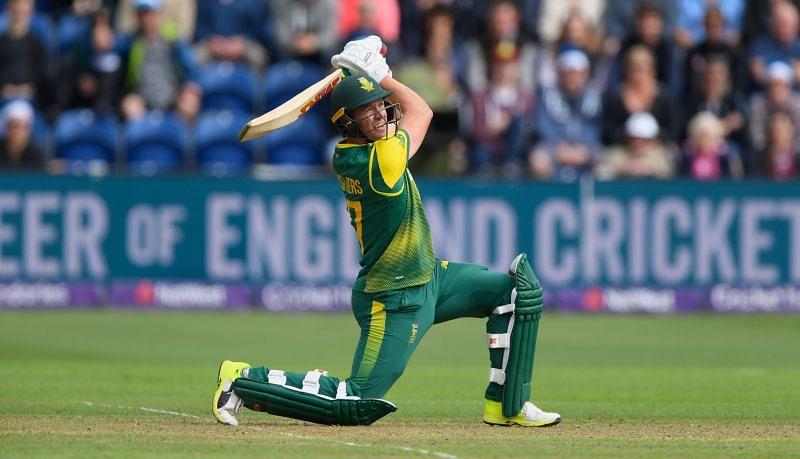 AB de Villiers, the 360 batsman!