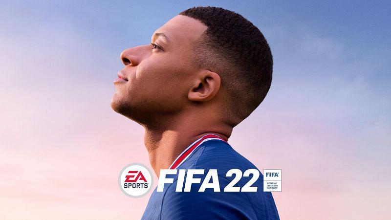 FIFA 22's offical cover (Image via EA Sports - FIFA 22)
