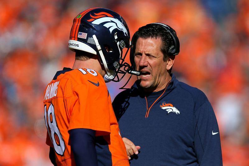 Why did Rick Dennison leave the Minnesota Vikings coaching staff?