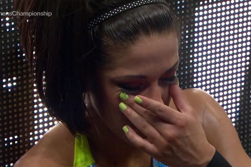WWE Superstar Bayley removed from Money in the Bank 2021 due to injury