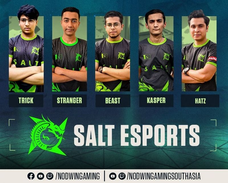 Salt Esports qualified for the Valorant Conquerors Championship (Image via NODWIN Gaming)