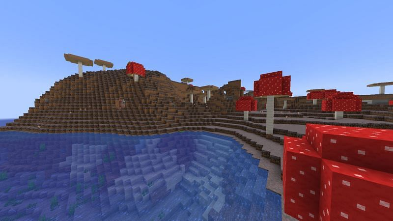 Mushroom fields (Image via u/ILoveSpongebob3000 on Reddit)