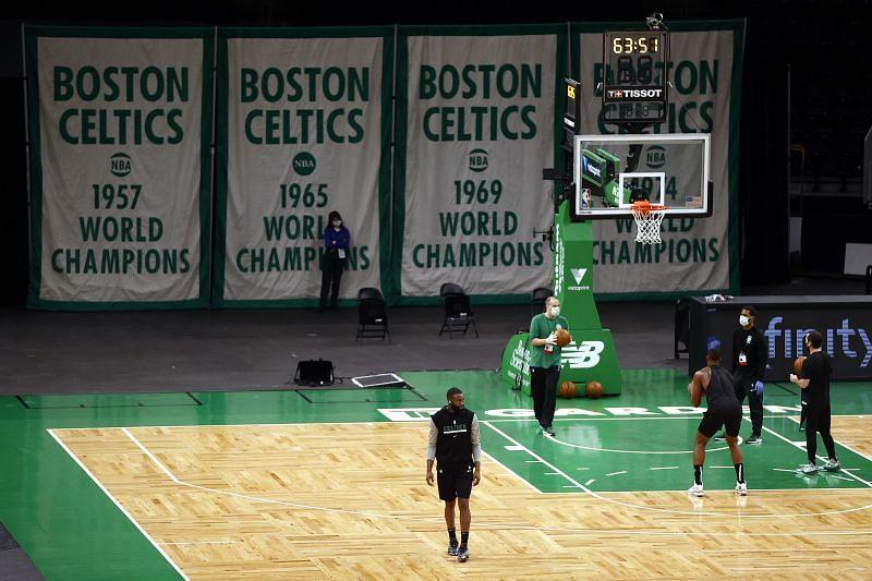 Jaylen Brown #7 of the Boston Celtics