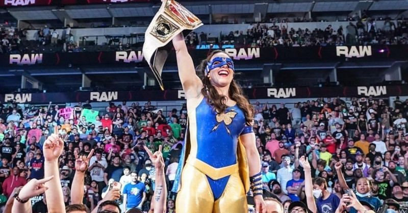 Raw विमेंस चैंपियन निकी एश