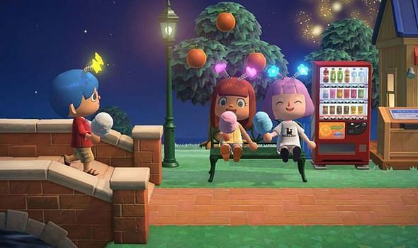 Fireworks Event takes place every Sunday in August (Image via Nintendo)