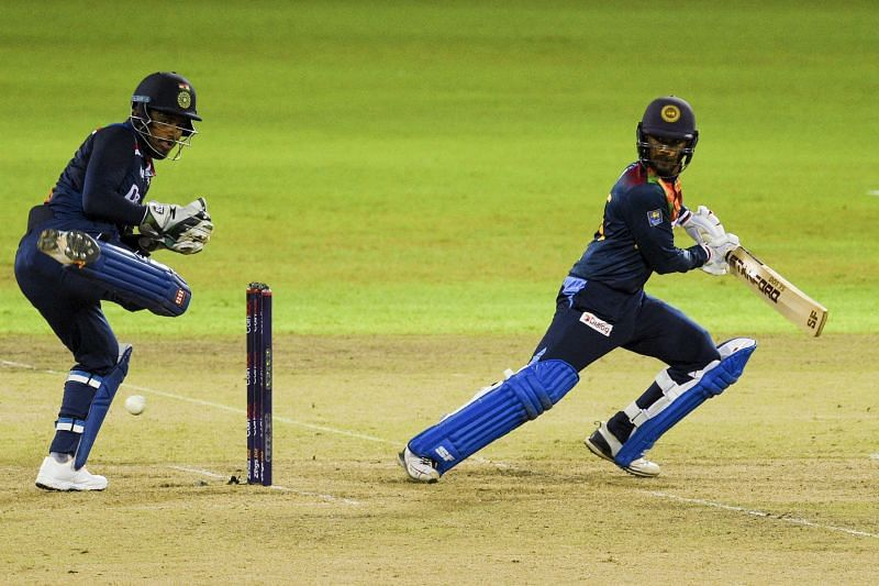 Dhananjaya de Silva won the Player of the Match in the second T20I (Photo: ICC)