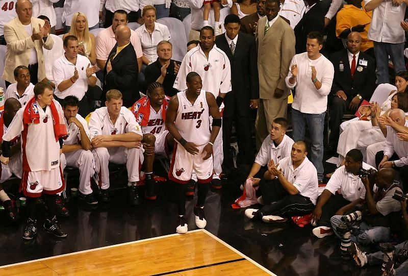 Wade during the 2006 NBA Finals