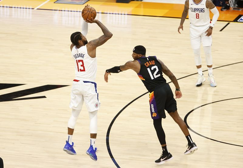 Paul George now holds the record for the most consecutive 20-point games in LA Clippers history in one NBA Playoffs campaign