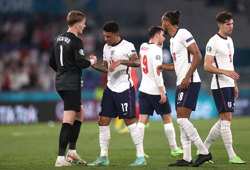 England are through to the Euro 2020 semi-final.