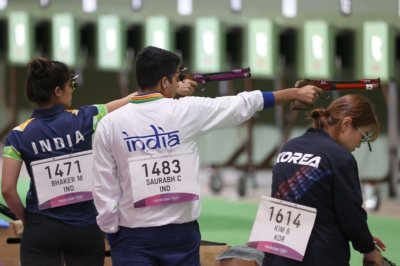 The Indian shooting team has disappointed in Tokyo