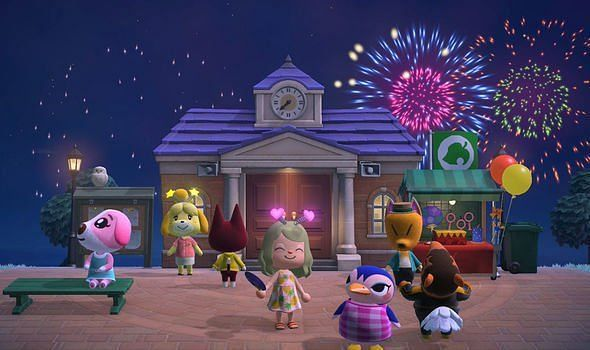 Animal Crossing version 1.11.0 is out now (Image via Nintendo)