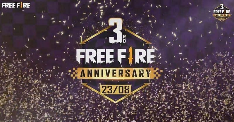 Free Fire के डेवेल्पर्स ने पिछले साल 23 अगस्त 2020 को एनिवर्सरी मनाई थी