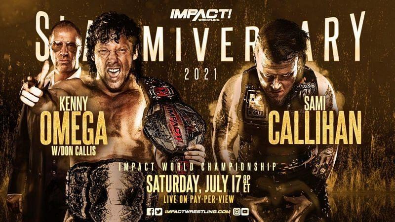 Watch Impact Wrestling Slammiversary 2021 7/17/21
