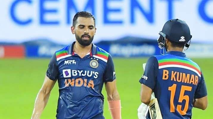 श्रीलंका के खिलाफ दूसरे वनडे में दीपक चाहर ने शानदार बल्लेबाजी का प्रदर्शन किया