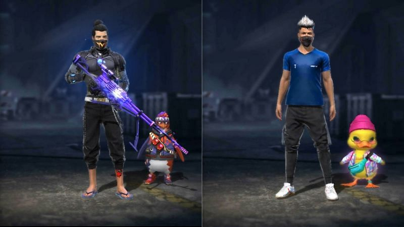 Lokesh Gamer and Jonty Gaming are gaming YouTubers who create Free Fire content (Image via Garena Free Fire)