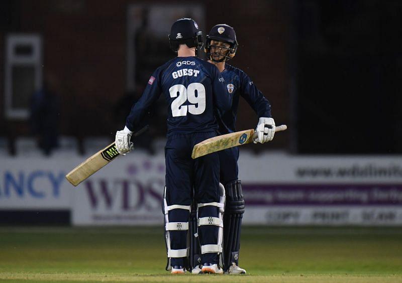 Derbyshire Falcons vs Steelbacks - Vitality T20 Blast