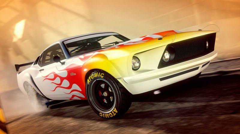 The Vapid Dominator GTF (Image via Rockstar Games)