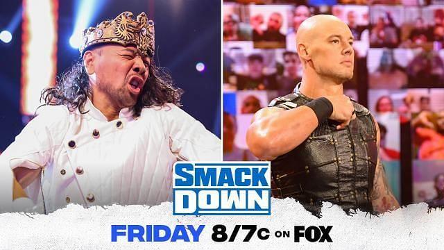 Shinsuke Nakamura vs Baron Corbin on SmackDown once again