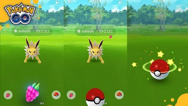 The Fast Catch method is great to learn for Pokemon encounters (Image via Niantic)
