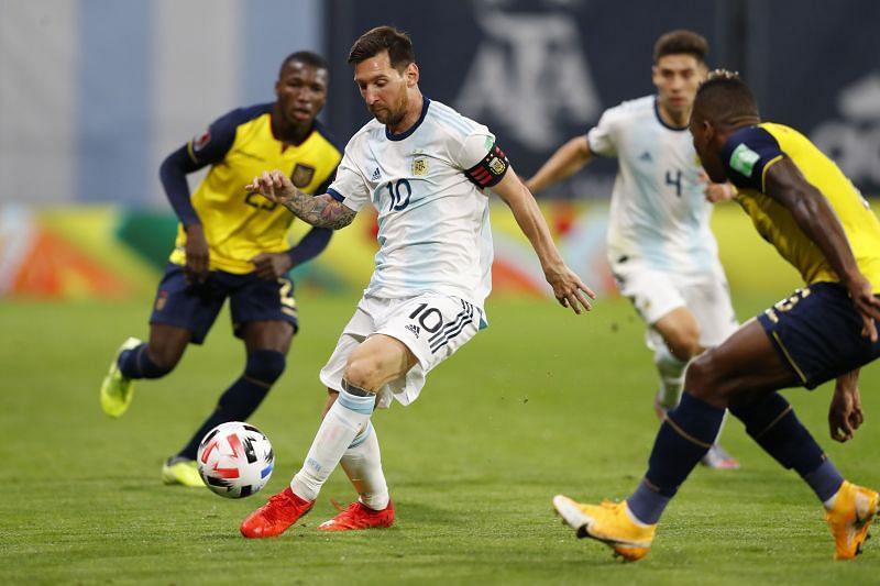 Argentina take on Ecuador this weekend