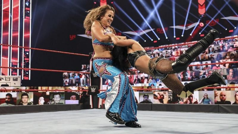 Mickie struggled to get regularly featured on WWE TV