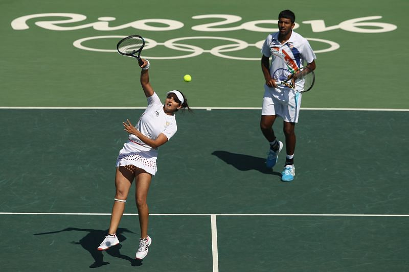 Sania Mirza and Rohan Bopanna fell short in the bronze medal match