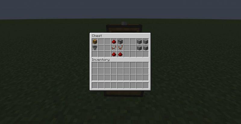 Elementos necesarios (Imagen a través de Minecraft)
