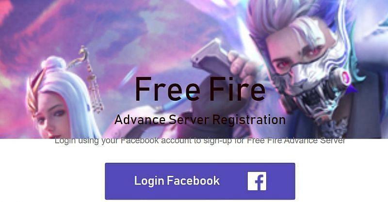 लॉगिन फेसबुक बटन पर क्लिक करें (Image via Free Fire)