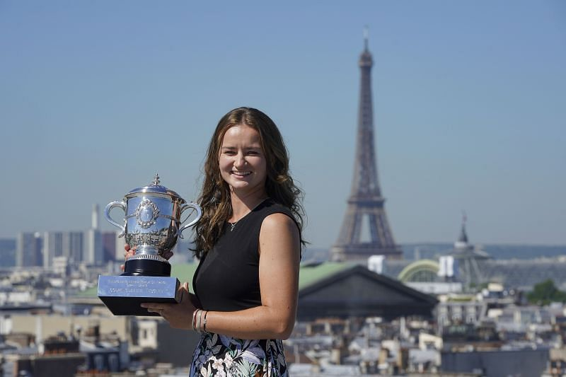 Barbora Krejcikova is looking to add Olympic gold to her French Open success