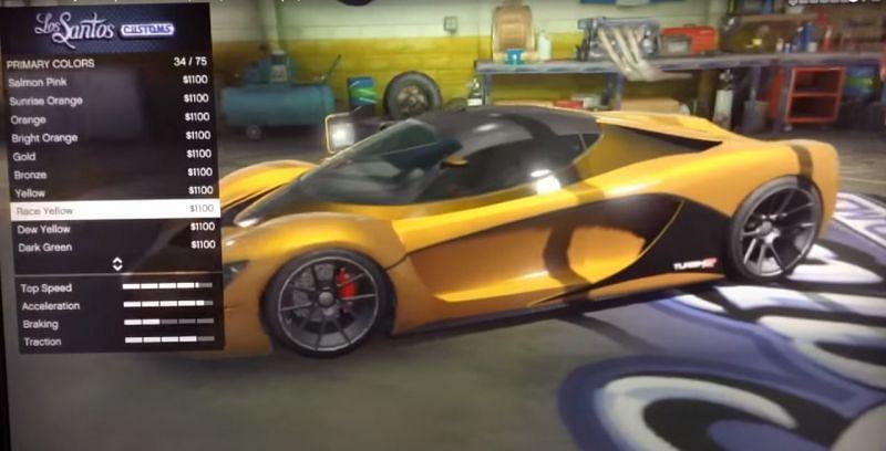 Bronze + Race yellow ( Source: Youtube @atlBG13 )
