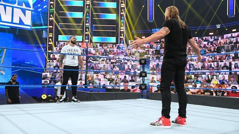 WWE SmackDown में रोमन रेंस लड़ेंगे बहुत बड़ा मैच