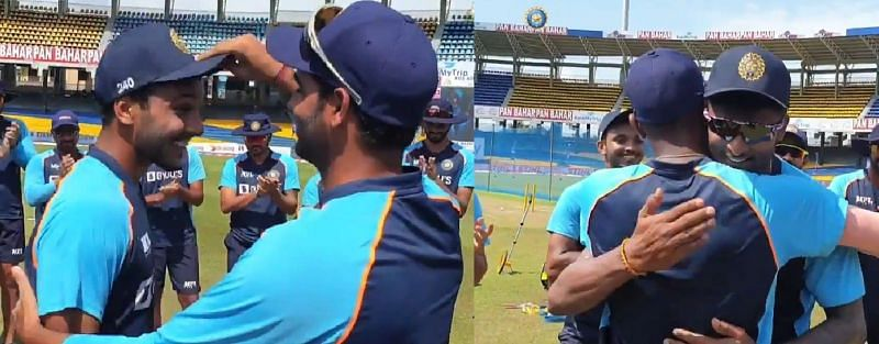 SL vs IND 2021: [Watch] The heartwarming moments when 5 Indian players received their debut caps