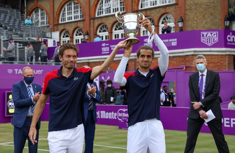Herbert and Mahut are France's best hope for a medal at the Olympics