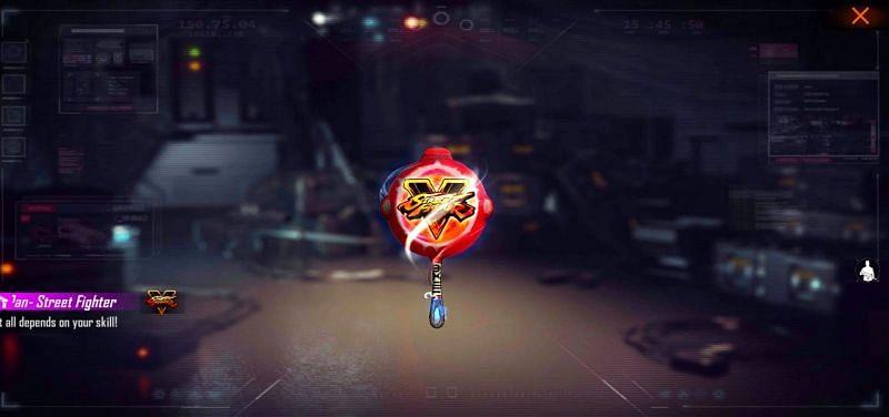 Street Fighter Pan (imagem via aplicativo de fogo grátis)