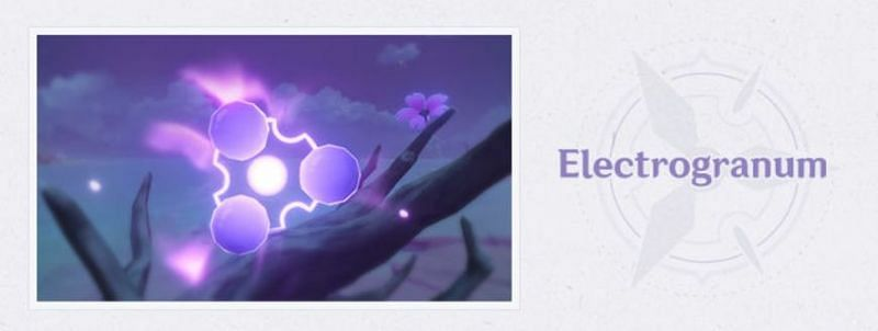 Electrogranum in Genshin Impact version 2.0 (Image via Mihoyo)