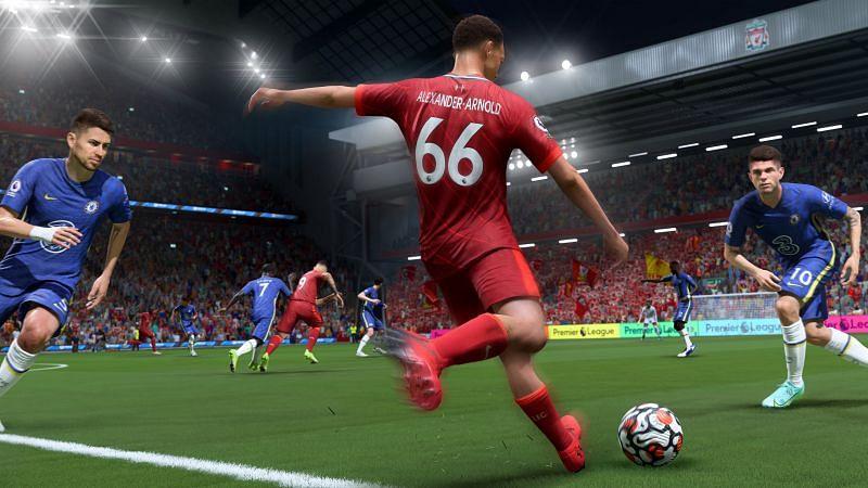 FIFA 22. Image via PlayStation