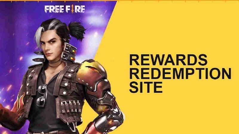 Redeem code rewards in Free Fire