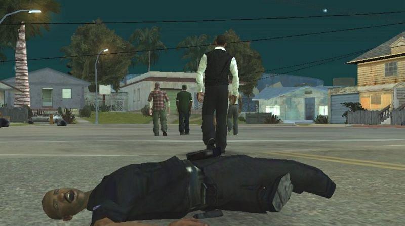 The riots end when Frank Tenpenny dies (Image via GTA Wiki)