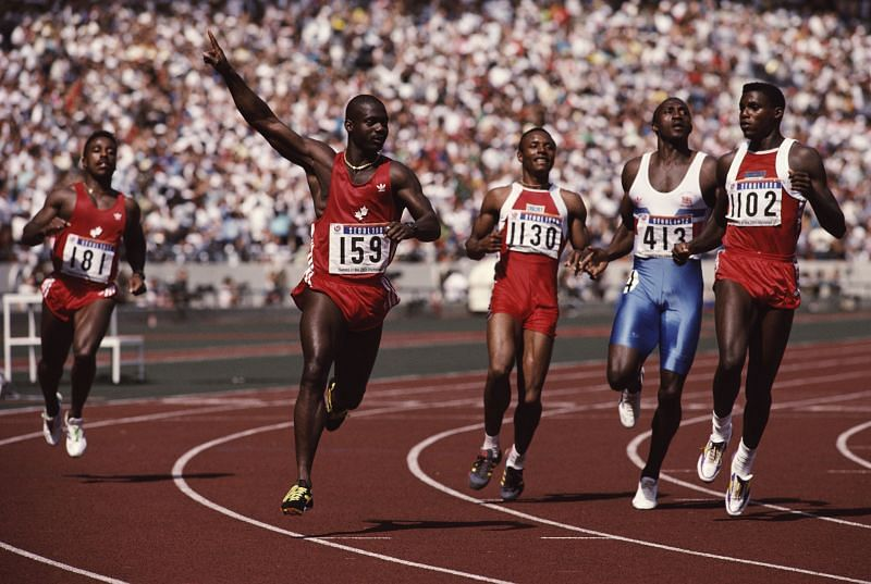 Seoul Olympics - The dirtiest 100 meters ever run in the history of mankind