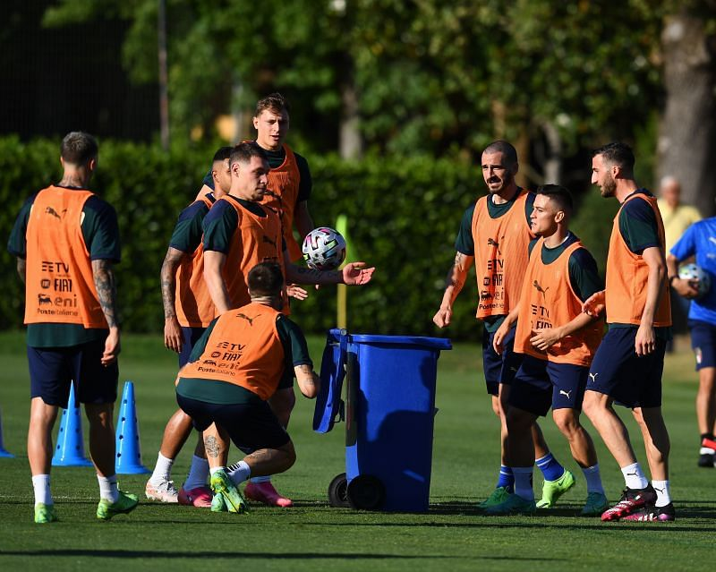 Italy Training Session & Press Conference Euro 2020